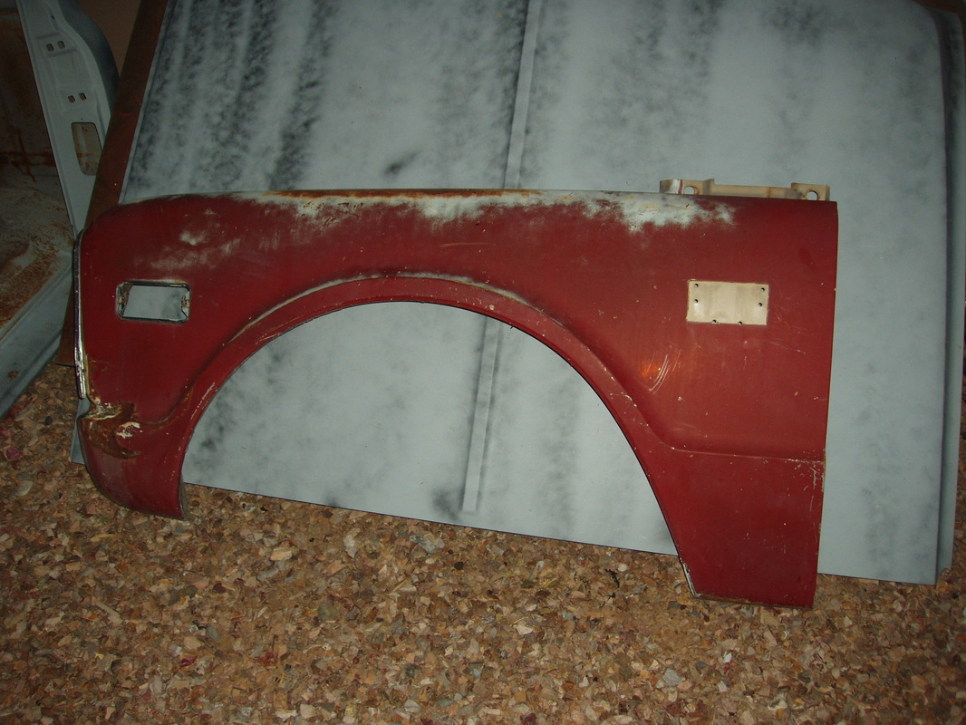68 Chevrolet Driver Side Fender