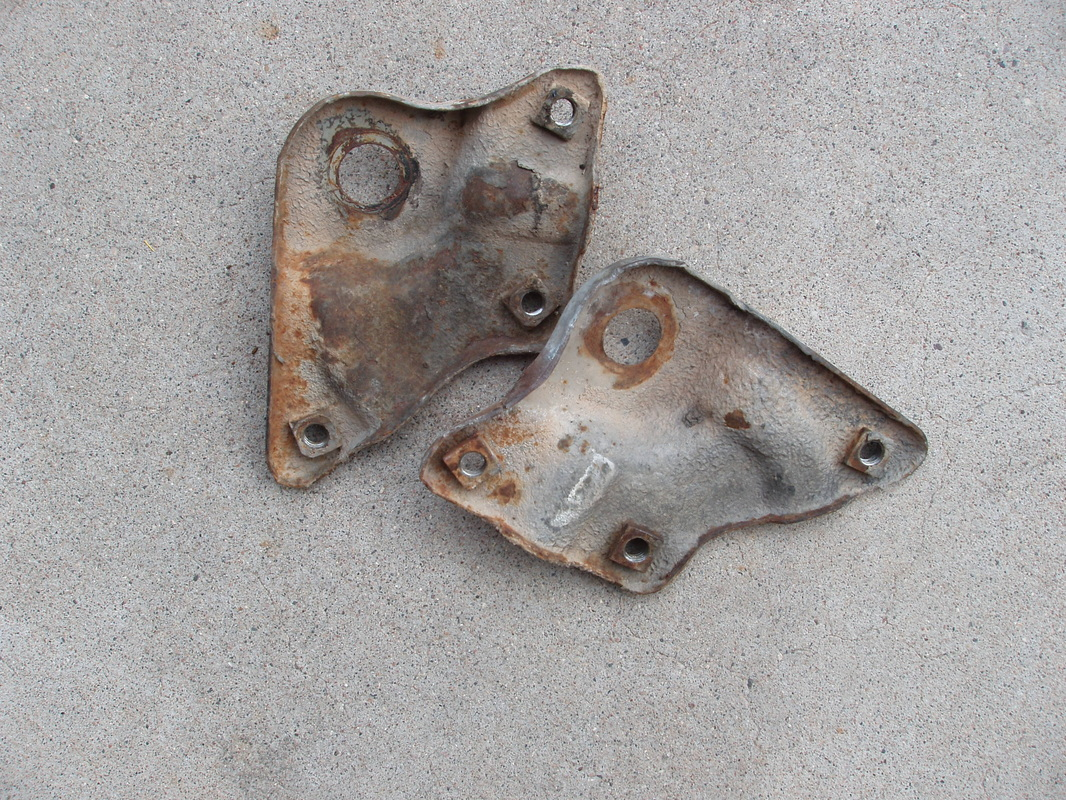 63-66 Fender to Cab Brackets-$30