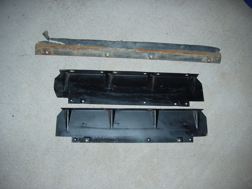 63-66 Fan Shroud Brackets $22
