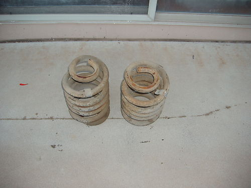 1971 Chevy 3/4 Ton Truck Rear Springs